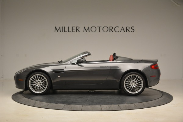 Used 2009 Aston Martin V8 Vantage Roadster for sale Sold at McLaren Greenwich in Greenwich CT 06830 3