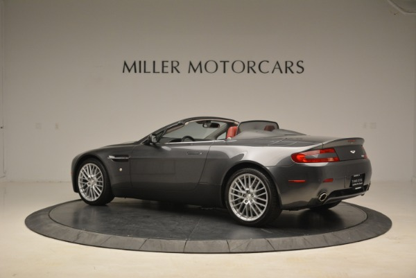 Used 2009 Aston Martin V8 Vantage Roadster for sale Sold at McLaren Greenwich in Greenwich CT 06830 4