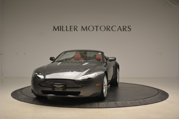 Used 2009 Aston Martin V8 Vantage Roadster for sale Sold at McLaren Greenwich in Greenwich CT 06830 1