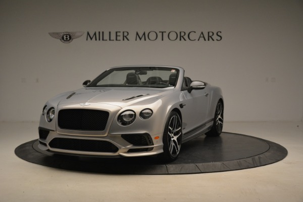 Used 2018 Bentley Continental GT Supersports Convertible for sale Sold at McLaren Greenwich in Greenwich CT 06830 1