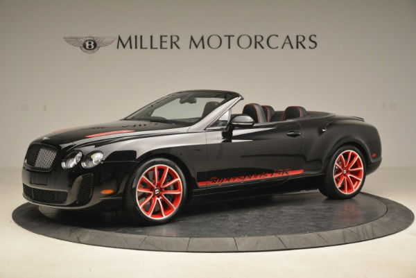 Used 2013 Bentley Continental GT Supersports Convertible ISR for sale Sold at McLaren Greenwich in Greenwich CT 06830 2