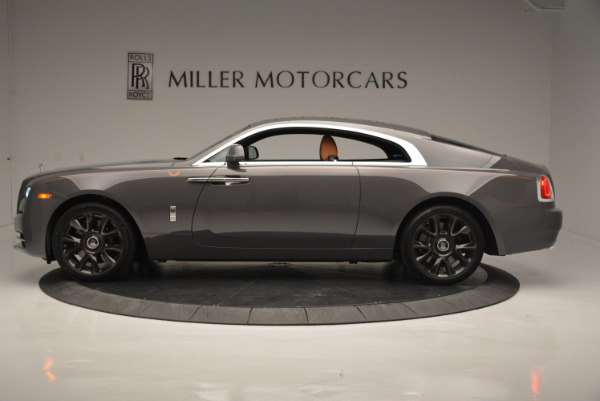 New 2018 Rolls-Royce Wraith Luminary Collection for sale Sold at McLaren Greenwich in Greenwich CT 06830 2
