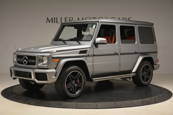 Used 2017 Mercedes-Benz G-Class AMG G 63 for sale Sold at McLaren Greenwich in Greenwich CT 06830 2