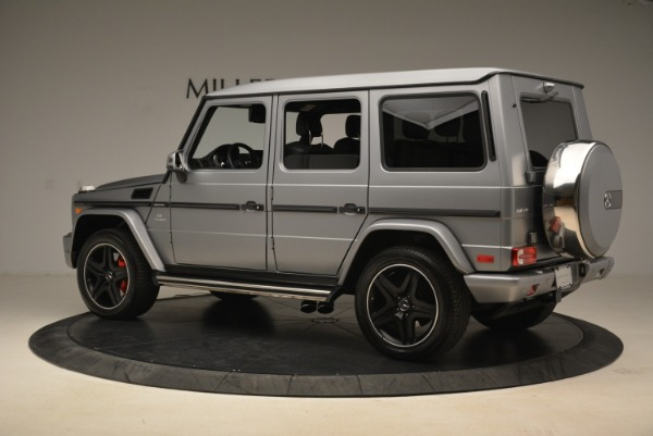 Used 2017 Mercedes-Benz G-Class AMG G 63 for sale Sold at McLaren Greenwich in Greenwich CT 06830 4