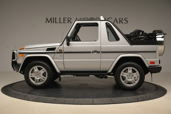 Used 2000 Mercedes-Benz G500 RENNTech for sale Sold at McLaren Greenwich in Greenwich CT 06830 3