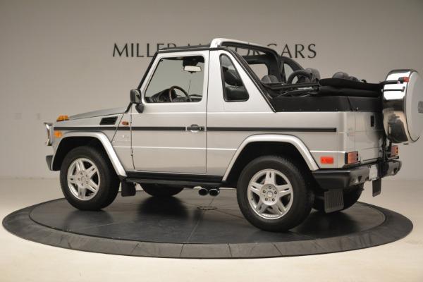 Used 2000 Mercedes-Benz G500 RENNTech for sale Sold at McLaren Greenwich in Greenwich CT 06830 4