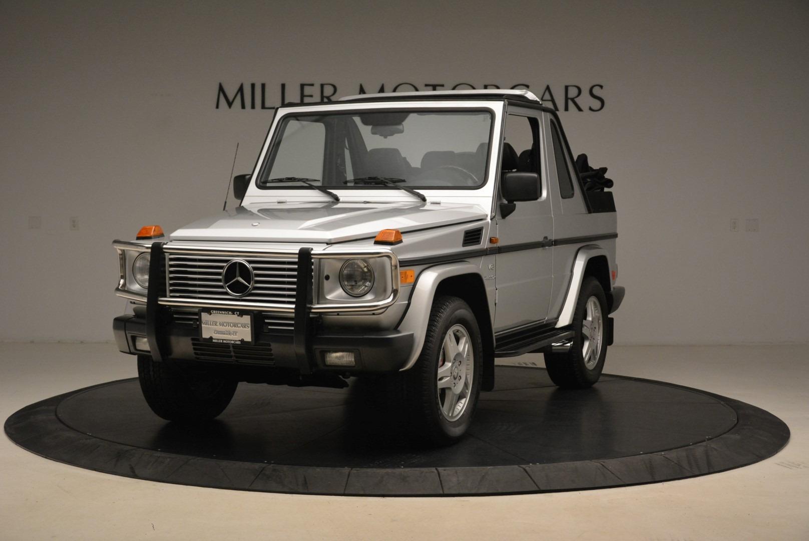 Used 2000 Mercedes-Benz G500 RENNTech for sale Sold at McLaren Greenwich in Greenwich CT 06830 1