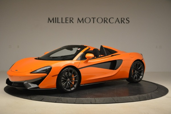 Used 2018 McLaren 570S Spider Convertible for sale Sold at McLaren Greenwich in Greenwich CT 06830 2