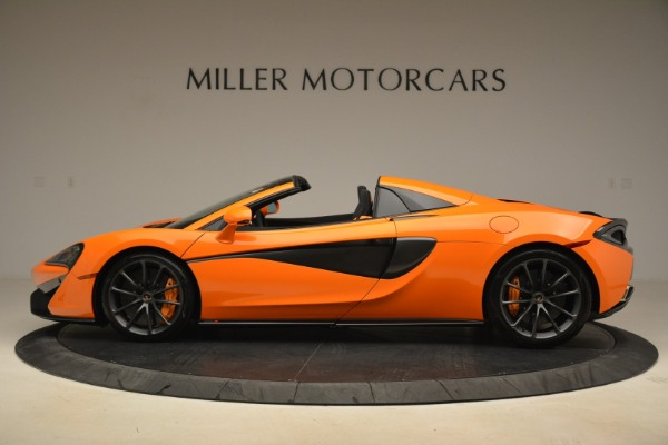 Used 2018 McLaren 570S Spider Convertible for sale Sold at McLaren Greenwich in Greenwich CT 06830 3