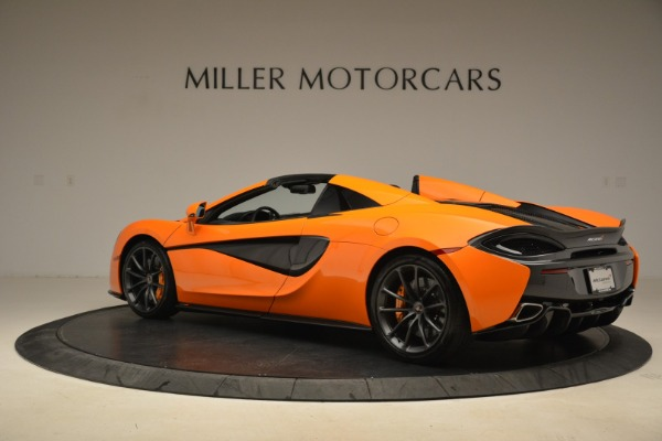 Used 2018 McLaren 570S Spider Convertible for sale Sold at McLaren Greenwich in Greenwich CT 06830 4