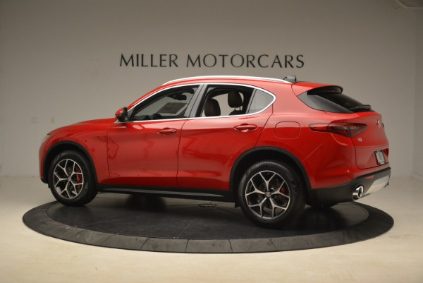 New 2018 Alfa Romeo Stelvio Ti Q4 for sale Sold at McLaren Greenwich in Greenwich CT 06830 4