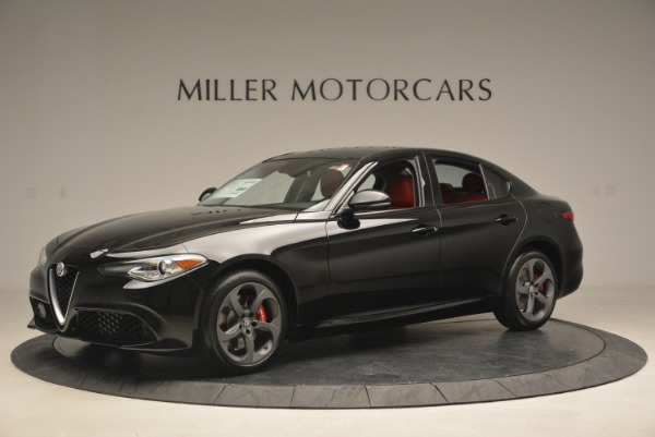 New 2018 Alfa Romeo Giulia Sport Q4 for sale Sold at McLaren Greenwich in Greenwich CT 06830 2