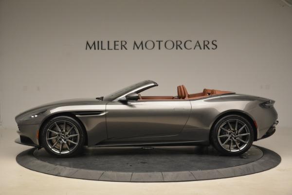 New 2019 Aston Martin DB11 Volante for sale Sold at McLaren Greenwich in Greenwich CT 06830 3