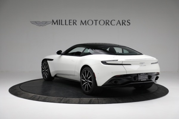 New 2018 Aston Martin DB11 V8 Coupe for sale Sold at McLaren Greenwich in Greenwich CT 06830 4