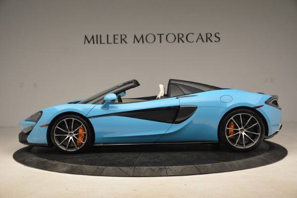 Used 2018 McLaren 570S Spider for sale Sold at McLaren Greenwich in Greenwich CT 06830 3