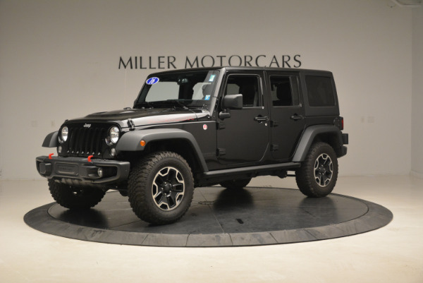 Used 2016 Jeep Wrangler Unlimited Rubicon for sale Sold at McLaren Greenwich in Greenwich CT 06830 2