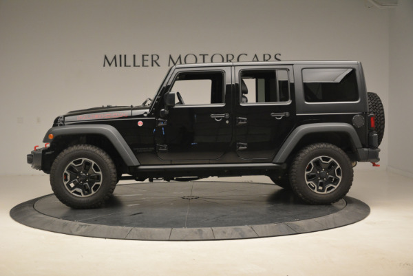 Used 2016 Jeep Wrangler Unlimited Rubicon for sale Sold at McLaren Greenwich in Greenwich CT 06830 3