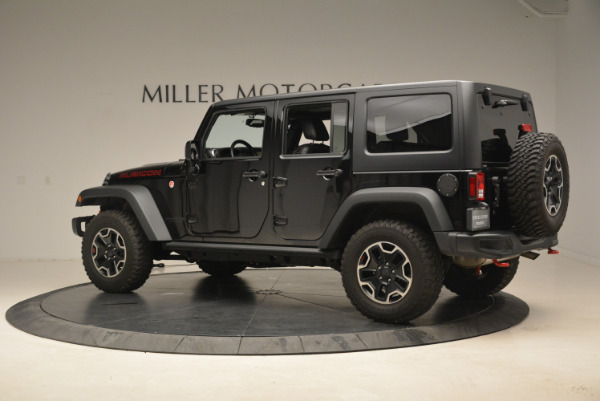 Used 2016 Jeep Wrangler Unlimited Rubicon for sale Sold at McLaren Greenwich in Greenwich CT 06830 4