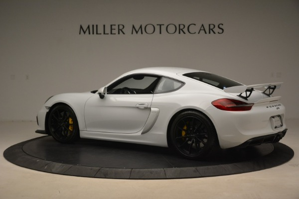Used 2016 Porsche Cayman GT4 for sale Sold at McLaren Greenwich in Greenwich CT 06830 4