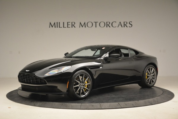 Used 2018 Aston Martin DB11 V8 Coupe for sale Sold at McLaren Greenwich in Greenwich CT 06830 1