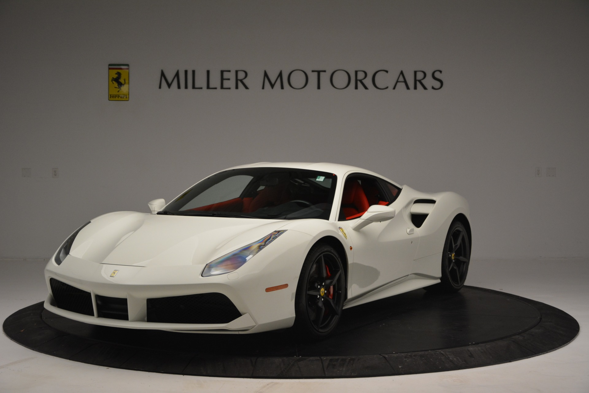 Used 2017 Ferrari 488 GTB for sale Sold at McLaren Greenwich in Greenwich CT 06830 1