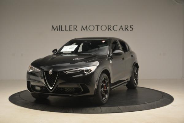 New 2018 Alfa Romeo Stelvio Quadrifoglio for sale Sold at McLaren Greenwich in Greenwich CT 06830 1