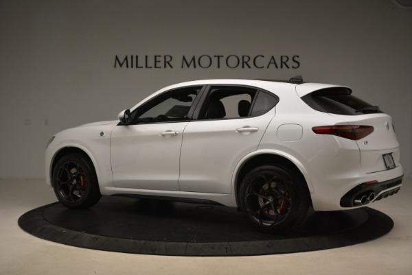 New 2018 Alfa Romeo Stelvio Quadrifoglio for sale Sold at McLaren Greenwich in Greenwich CT 06830 4