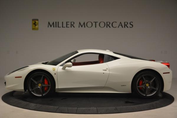 Used 2014 Ferrari 458 Italia for sale Sold at McLaren Greenwich in Greenwich CT 06830 3