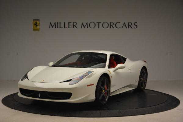 Used 2014 Ferrari 458 Italia for sale Sold at McLaren Greenwich in Greenwich CT 06830 1