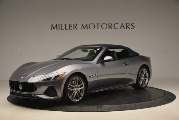 New 2018 Maserati GranTurismo Sport Convertible for sale Sold at McLaren Greenwich in Greenwich CT 06830 4