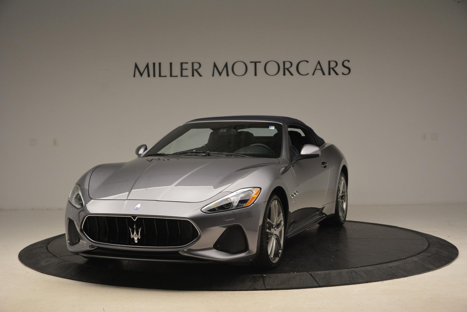 New 2018 Maserati GranTurismo Sport Convertible for sale Sold at McLaren Greenwich in Greenwich CT 06830 1