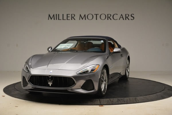 New 2018 Maserati GranTurismo Sport Convertible for sale Sold at McLaren Greenwich in Greenwich CT 06830 1