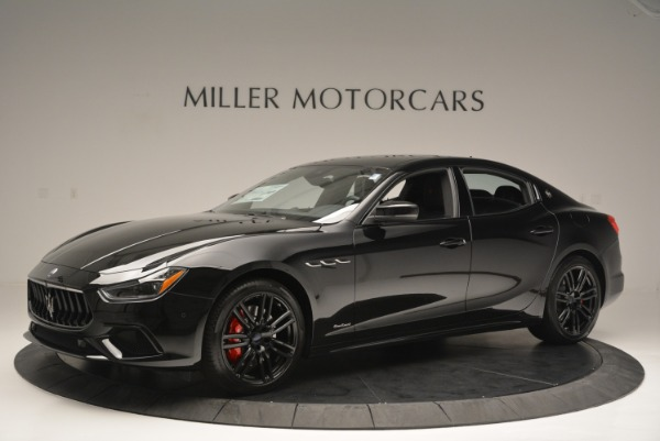 New 2018 Maserati Ghibli SQ4 GranSport Nerissimo for sale Sold at McLaren Greenwich in Greenwich CT 06830 2