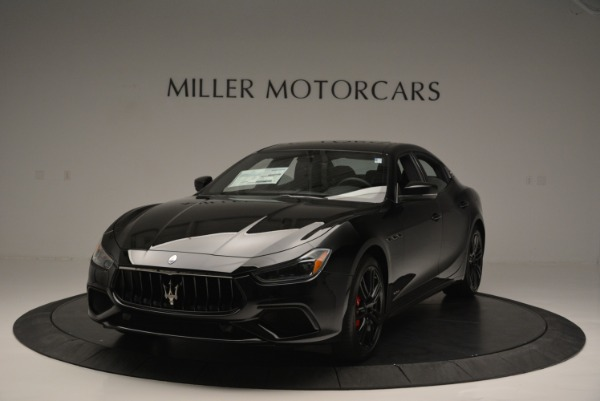 New 2018 Maserati Ghibli SQ4 GranSport Nerissimo for sale Sold at McLaren Greenwich in Greenwich CT 06830 1