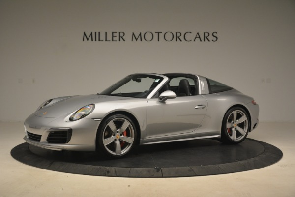 Used 2017 Porsche 911 Targa 4S for sale Sold at McLaren Greenwich in Greenwich CT 06830 2