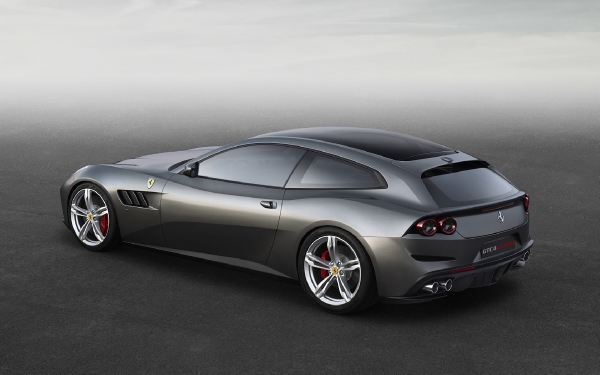 New 2020 Ferrari GTC4LUSSO for sale Sold at McLaren Greenwich in Greenwich CT 06830 4