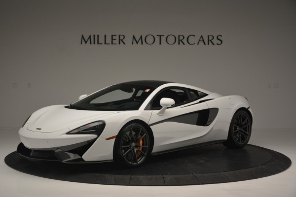 Used 2018 McLaren 570S Track Pack for sale Sold at McLaren Greenwich in Greenwich CT 06830 2