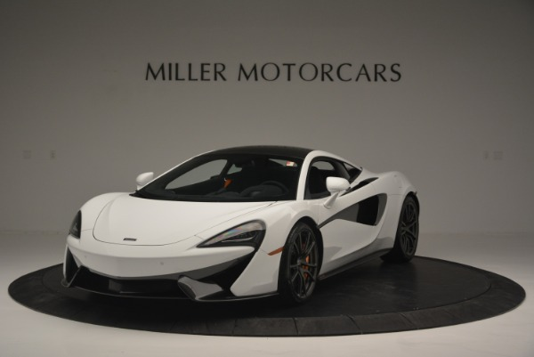 Used 2018 McLaren 570S Track Pack for sale Sold at McLaren Greenwich in Greenwich CT 06830 1