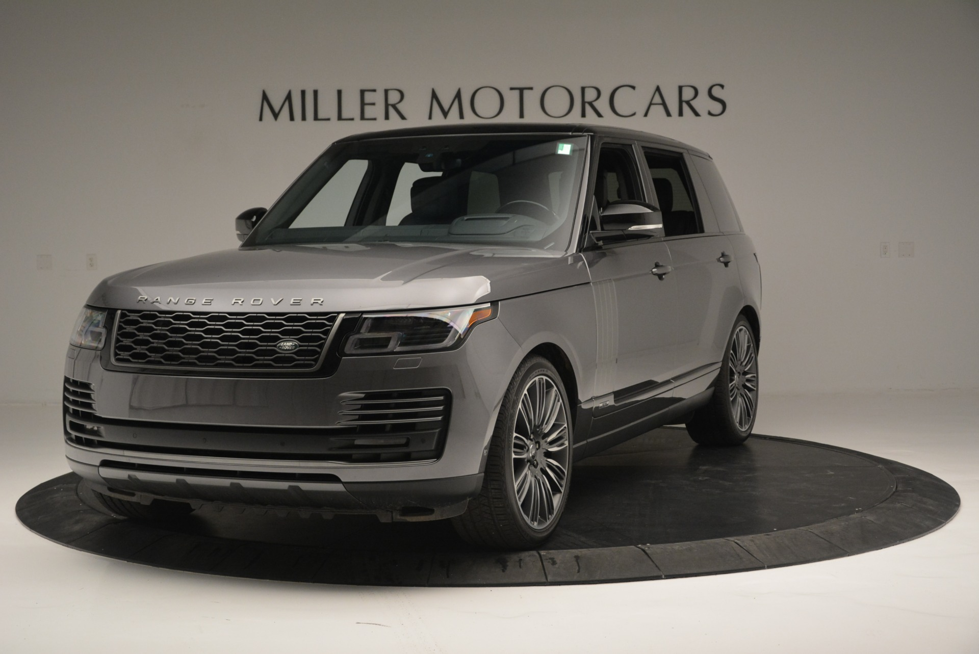 Used 2018 Land Rover Range Rover Supercharged LWB for sale Sold at McLaren Greenwich in Greenwich CT 06830 1