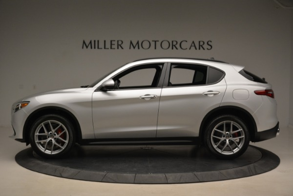 New 2018 Alfa Romeo Stelvio Ti Sport Q4 for sale Sold at McLaren Greenwich in Greenwich CT 06830 3