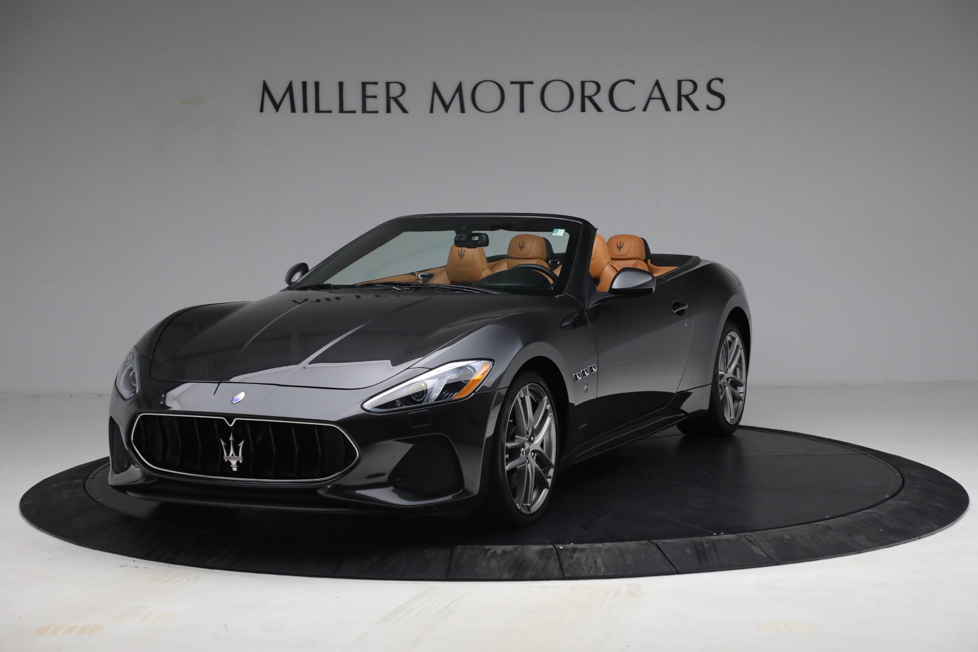 Used 2018 Maserati GranTurismo Sport for sale Call for price at McLaren Greenwich in Greenwich CT 06830 1