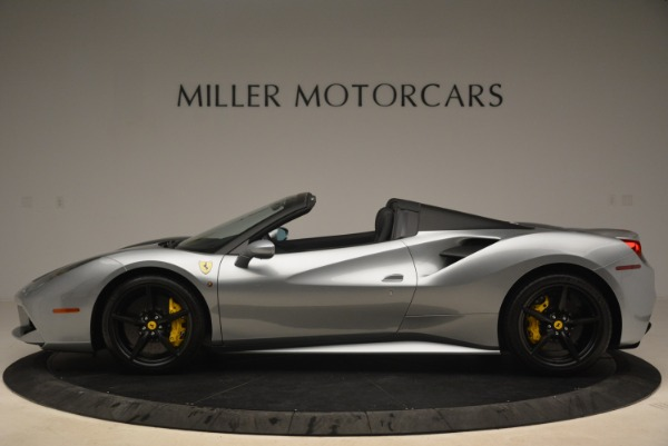 Used 2018 Ferrari 488 Spider for sale $274,900 at McLaren Greenwich in Greenwich CT 06830 3