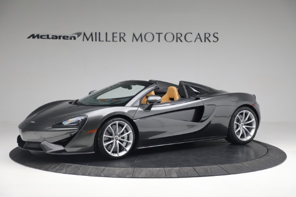 Used 2018 McLaren 570S Spider for sale Sold at McLaren Greenwich in Greenwich CT 06830 2
