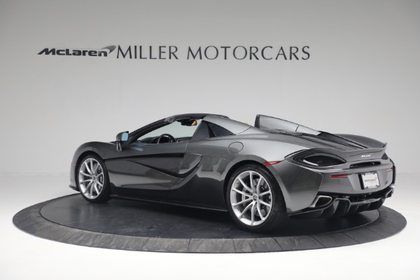 Used 2018 McLaren 570S Spider for sale Sold at McLaren Greenwich in Greenwich CT 06830 4