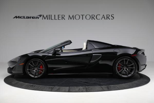 New 2018 McLaren 570S Spider for sale Sold at McLaren Greenwich in Greenwich CT 06830 3