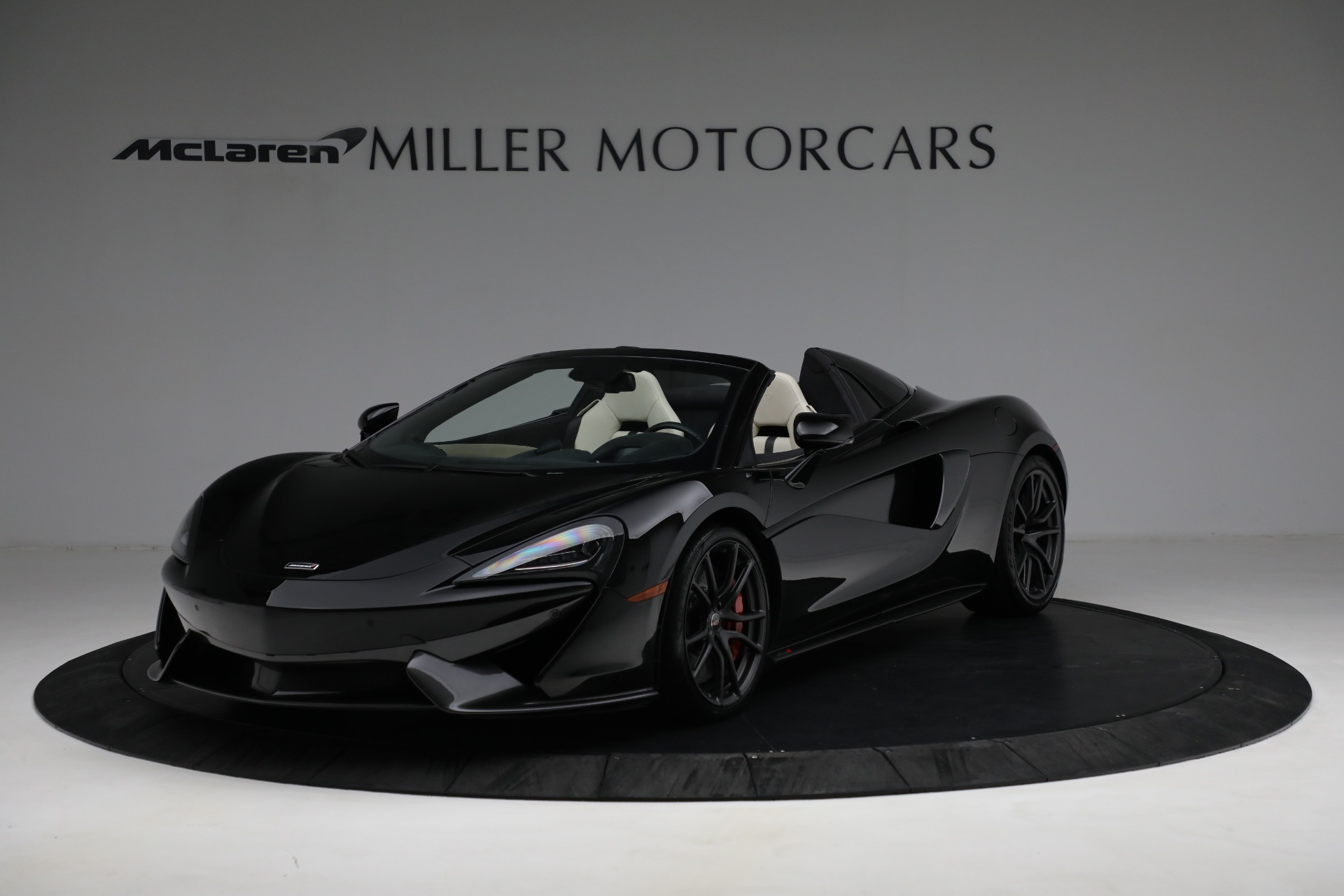 New 2018 McLaren 570S Spider for sale Sold at McLaren Greenwich in Greenwich CT 06830 1