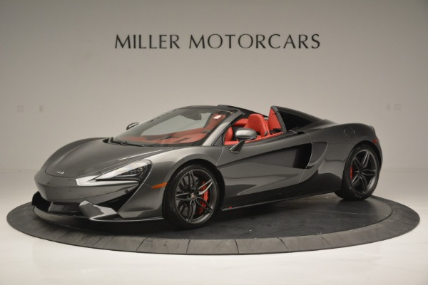 New 2018 McLaren 570S Spider for sale Sold at McLaren Greenwich in Greenwich CT 06830 2