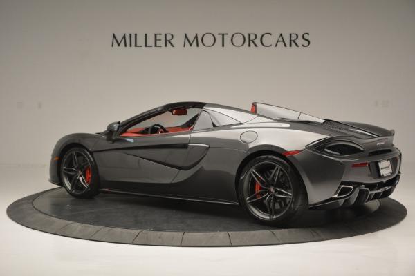 New 2018 McLaren 570S Spider for sale Sold at McLaren Greenwich in Greenwich CT 06830 4