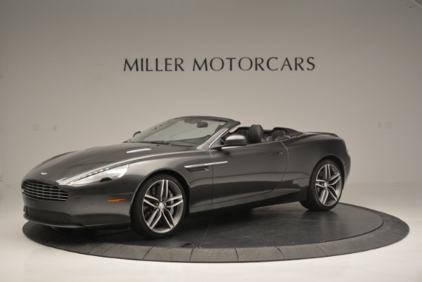 Used 2014 Aston Martin DB9 Volante for sale Sold at McLaren Greenwich in Greenwich CT 06830 2