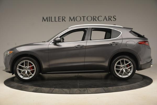 New 2018 Alfa Romeo Stelvio Ti Q4 for sale Sold at McLaren Greenwich in Greenwich CT 06830 3